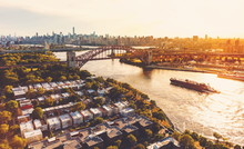 Aerial View Of The Hell Gate B...