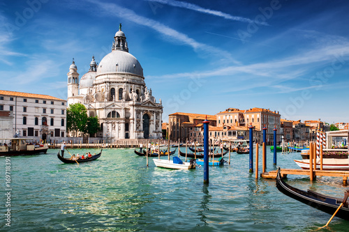 Poster Venise Beautiful Venice city at summertime. Italy, Europe