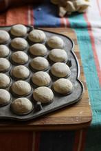 Process Of Cooking Ravioli Wit...