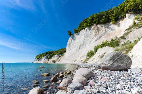 Deurstickers Kust Die Ostseeküste auf der Insel Rügen