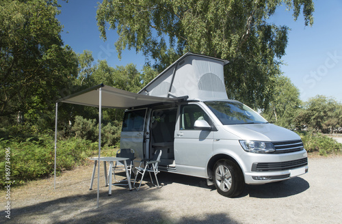 Photo  Camper Van Vacation, Holiday Destination