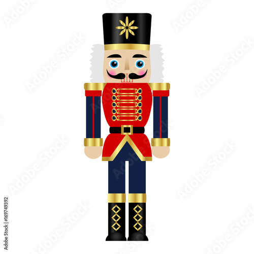 Fotomural Vector illustration of a nutcracker