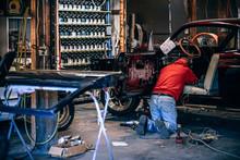 Car Restoration Workshop