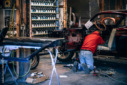 Car Restoration Workshop