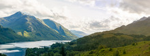 View Of Glenfinnan In Highland...