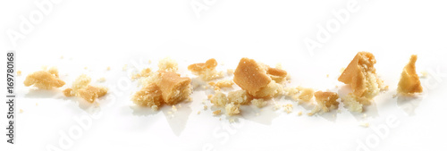 Papiers peints Biscuit Cookie crumbs macro