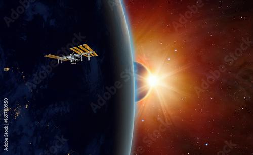 Deurstickers Nasa Solar Eclipse