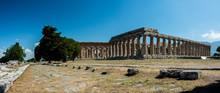 Tempel In Paestum Archäologis...