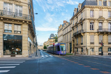 Tram On The Streets And Archit...