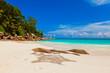 Beach Georgette at island Praslin - Seychelles