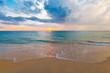 Thailand. Sea sunset