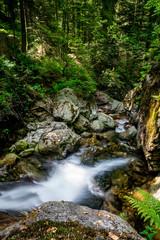 Fototapeta Wodospad Hochfall Wasserfall