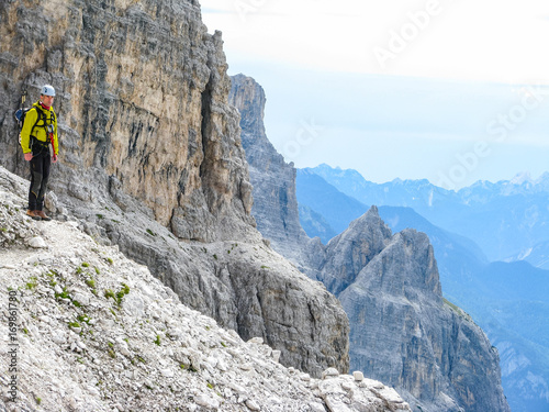 Klettersteig Italien : Italien trentino südtirol sextener dolomiten mehrtageswanderung