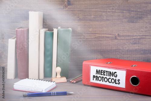 Fotografía  Meeting Protocols