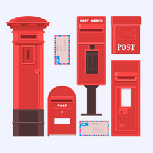 Vector Illustration Of Mail Bo...