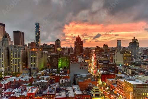 City on the water Manhattan Skyline View