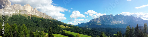 Fotografia, Obraz  Panoramic view of Dolomites Alps