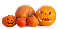 Halloween Pumpkins, Jack-o-lan...