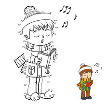 Numbers Game, Boy Singing A Christmas Song