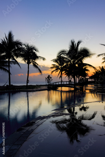Fototapety, obrazy: Sunrise at the beach in Hoi An Vietnam
