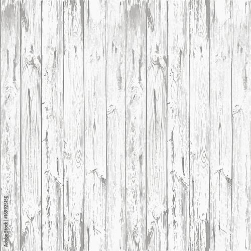 Tuinposter Hout Clear Old Seamless White Rustic Wooden Texture