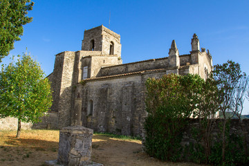 Fototapeta na wymiar église de saint-thomé