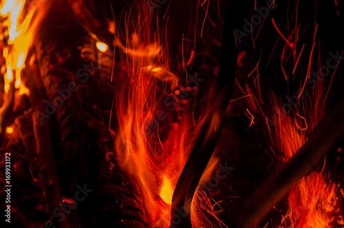 Poster Flamme fire burning fire