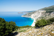 Summer panorama Greece - sea, sun, beach