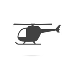 Helicopter Icon Vector Transpa...