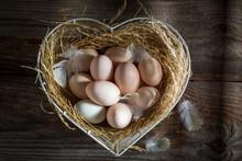 Lovely Free Range Eggs From The Farm