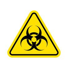 Warning Sign Of Virus. Biohaza...