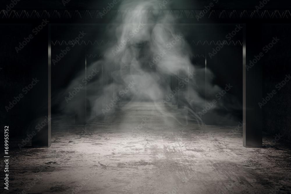 Fototapety, obrazy: Grungy dark interior
