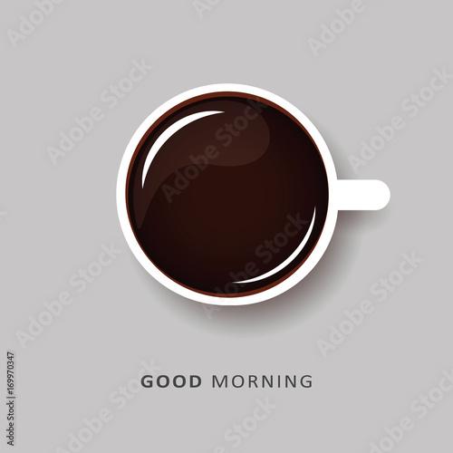Guten Morgen Kaffee Schwarz Buy This Stock Vector And