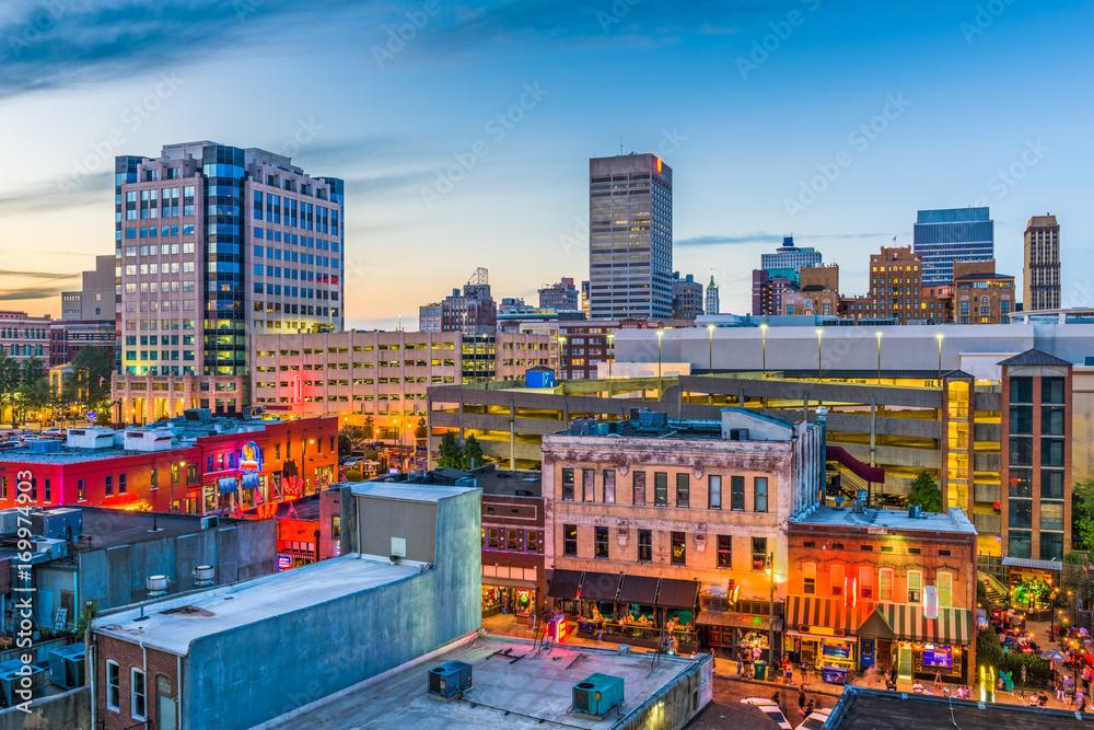 Memphis Tennessee Skyline