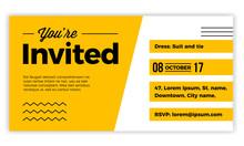 You Are Invited Design Voucher...
