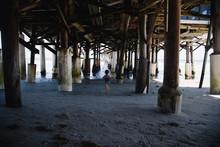 Running Under The Pier