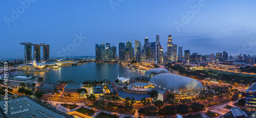Foto op Plexiglas F1 Marina Bay Singapore