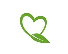 Love Leaf Icon