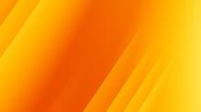 Yellow Orange Modern Abstract ...