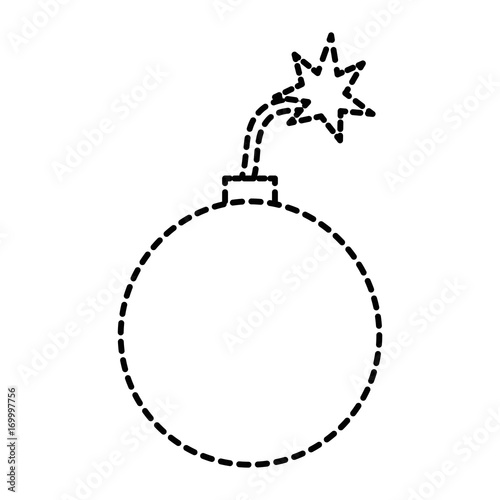 Fotografia, Obraz explosive boom isolated icon vector illustration design