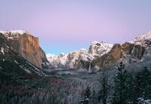Winter Yosemite – Tunnel View