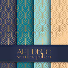 Art Deco Seamless Pattern