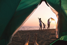Beach Camping. Family Camping ...
