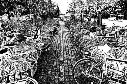 czarno-biale-rowery