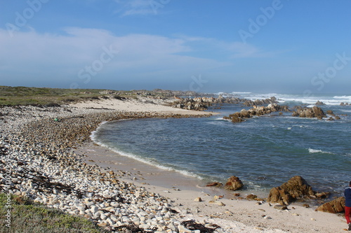 Spoed Foto op Canvas Noordzee Küste in Südafrika