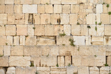 The Western Wall Or Wailing Wa...