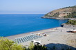 View of a famous beach in Cilento, Italy