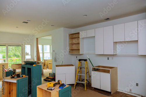 Interior Design Construction Of A Kitchen With Cooker Extractor Classy Interior Design Construction
