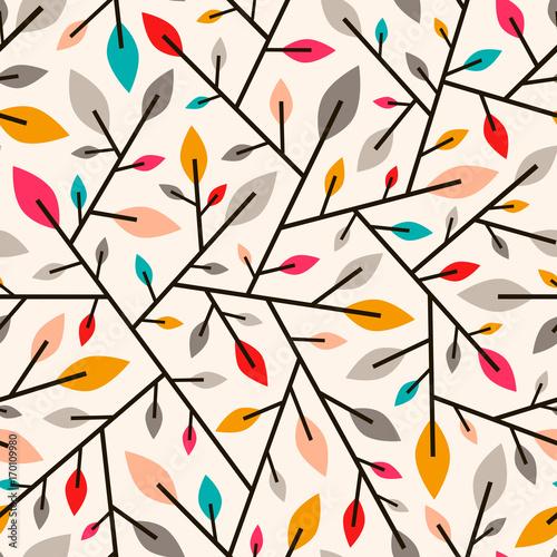 bezszwowy-geometryczny-wzor-jesien-galazki-i-liscie