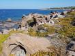 Portoscuso coastline with rocks